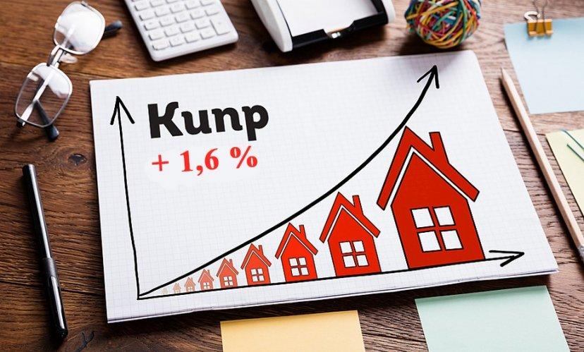 Стоимость жилья на Кипре за год выросла на 1,6%
